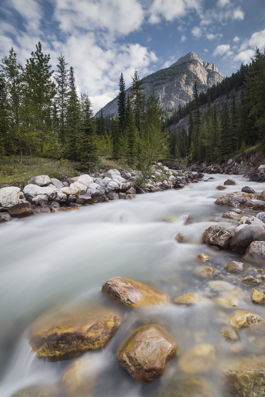 Rampart Creek, Banff National Park, Alberta, Canada