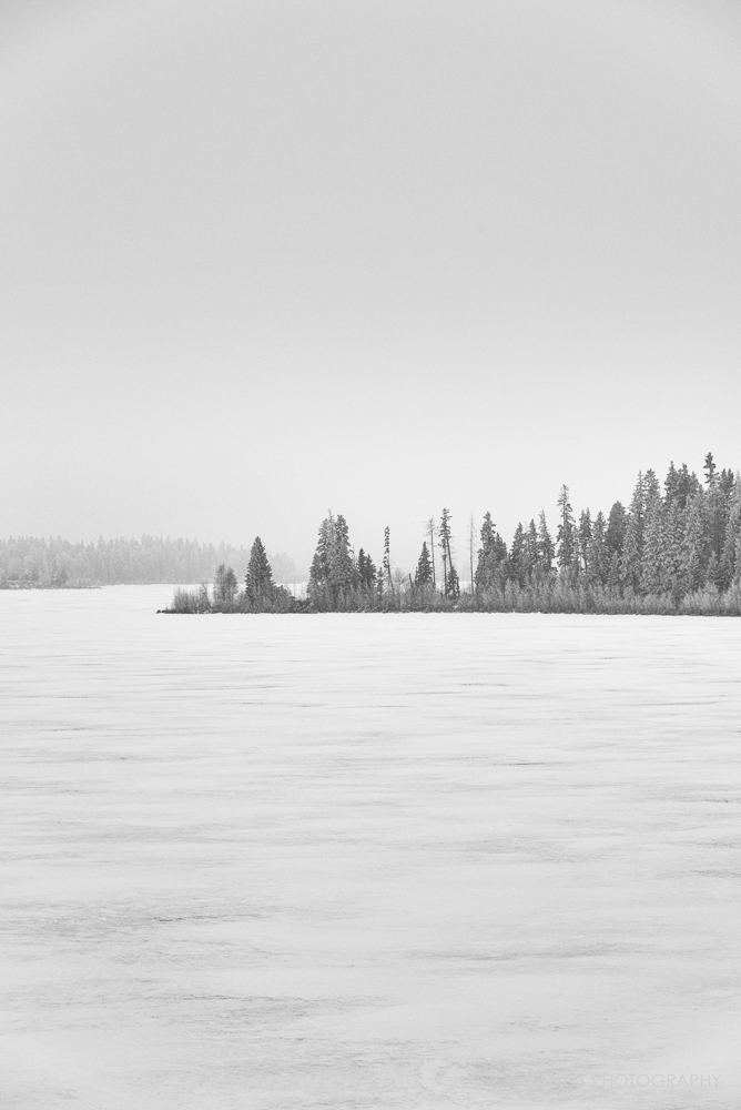 Astotin Lake Winter, Elk Island National Park
