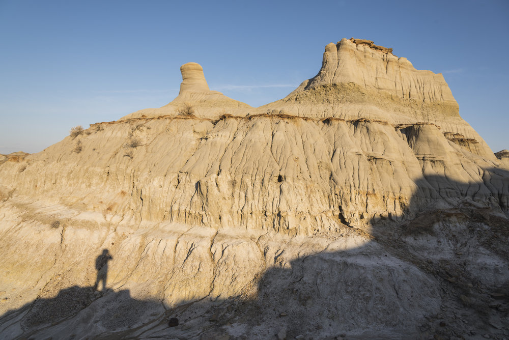 In the shadows of the badlands, Dinosaur Provincial Park