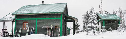 Niché sur le massif de la Montagne noire, le refuge à une altitude de 850m offre un point de vue incroyable de la région.