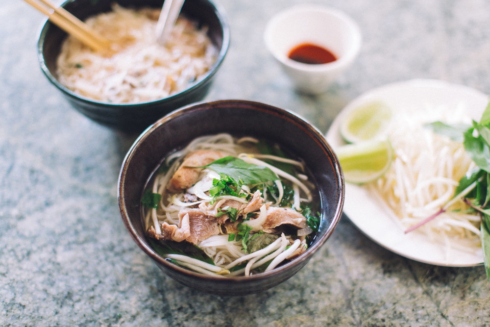 Thanksgiving Turkey Pho using Leftovers