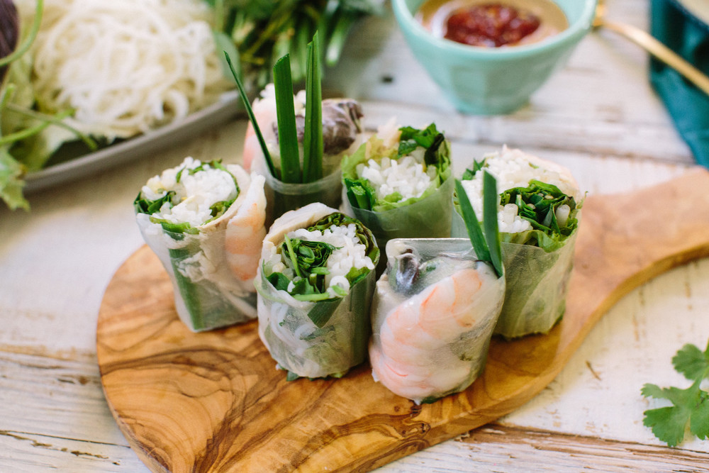 Vietnamese Spring Rolls Honeysuckle
