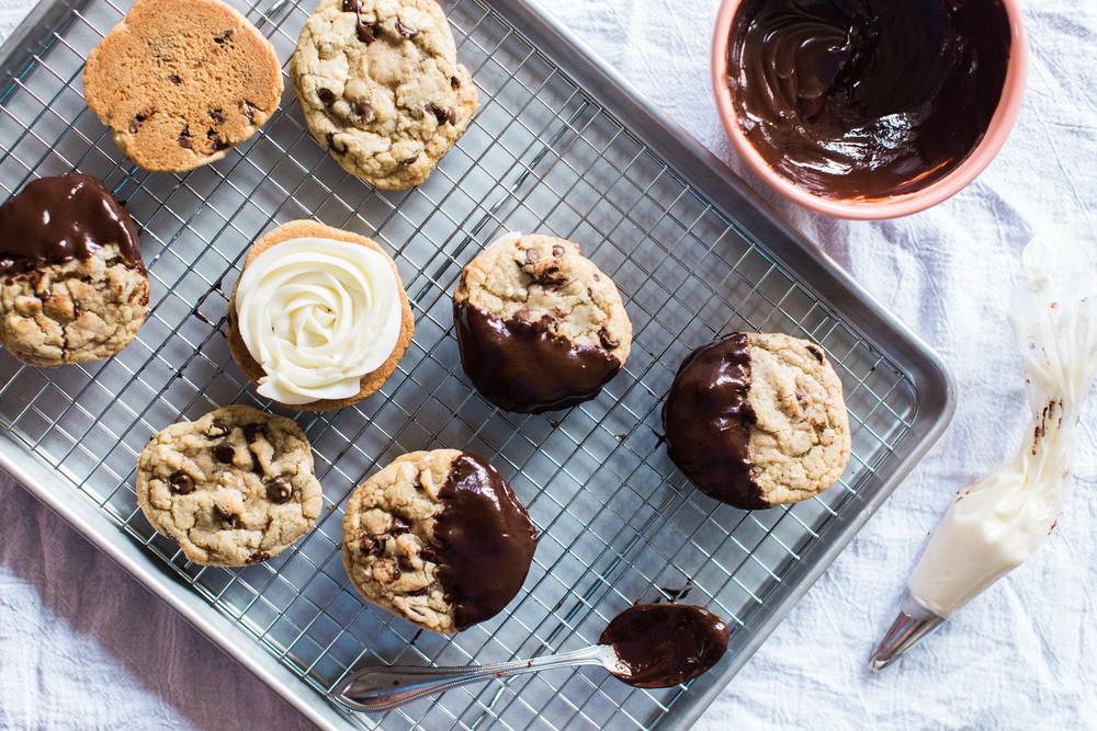 Chocolate Chip Cookie Sandwiches Recipe Honeysuckle
