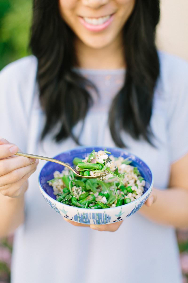 Farro Salad Recipe Honeysuckle