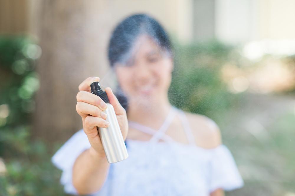DIY Bug Spray - Honeysuckle