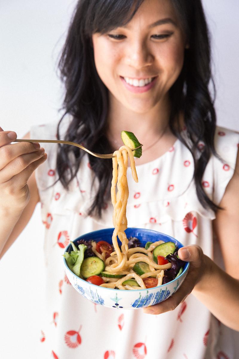 udon salad odang udon honeysuckle