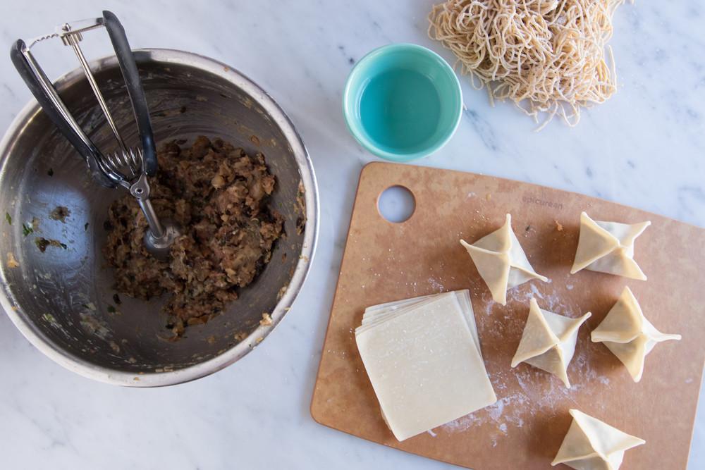 Wonton Noodle Soup Honeysuckle