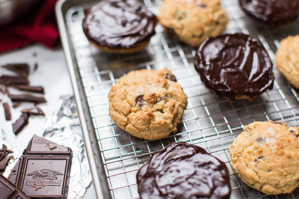 chocolate chip cookies honeysuckle