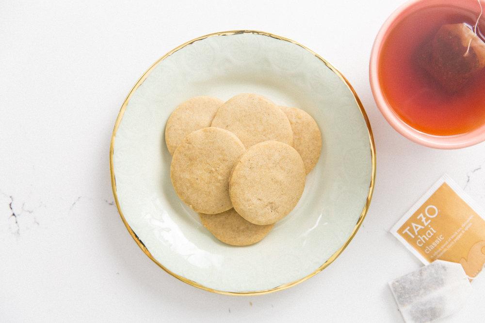 Tazo Chai Cookies- Honeysuckle - Starbucks