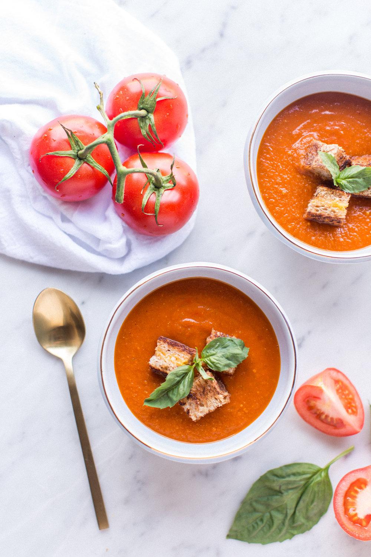 tomato soup - honeysuckle
