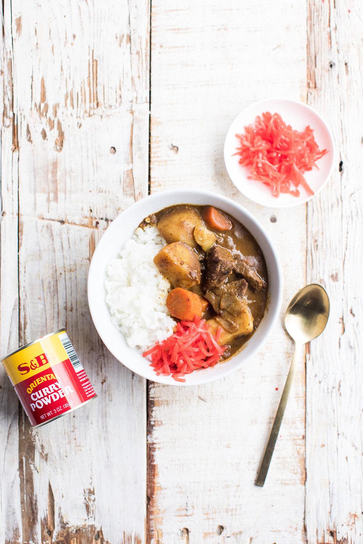 japanese curry - honeysuckle