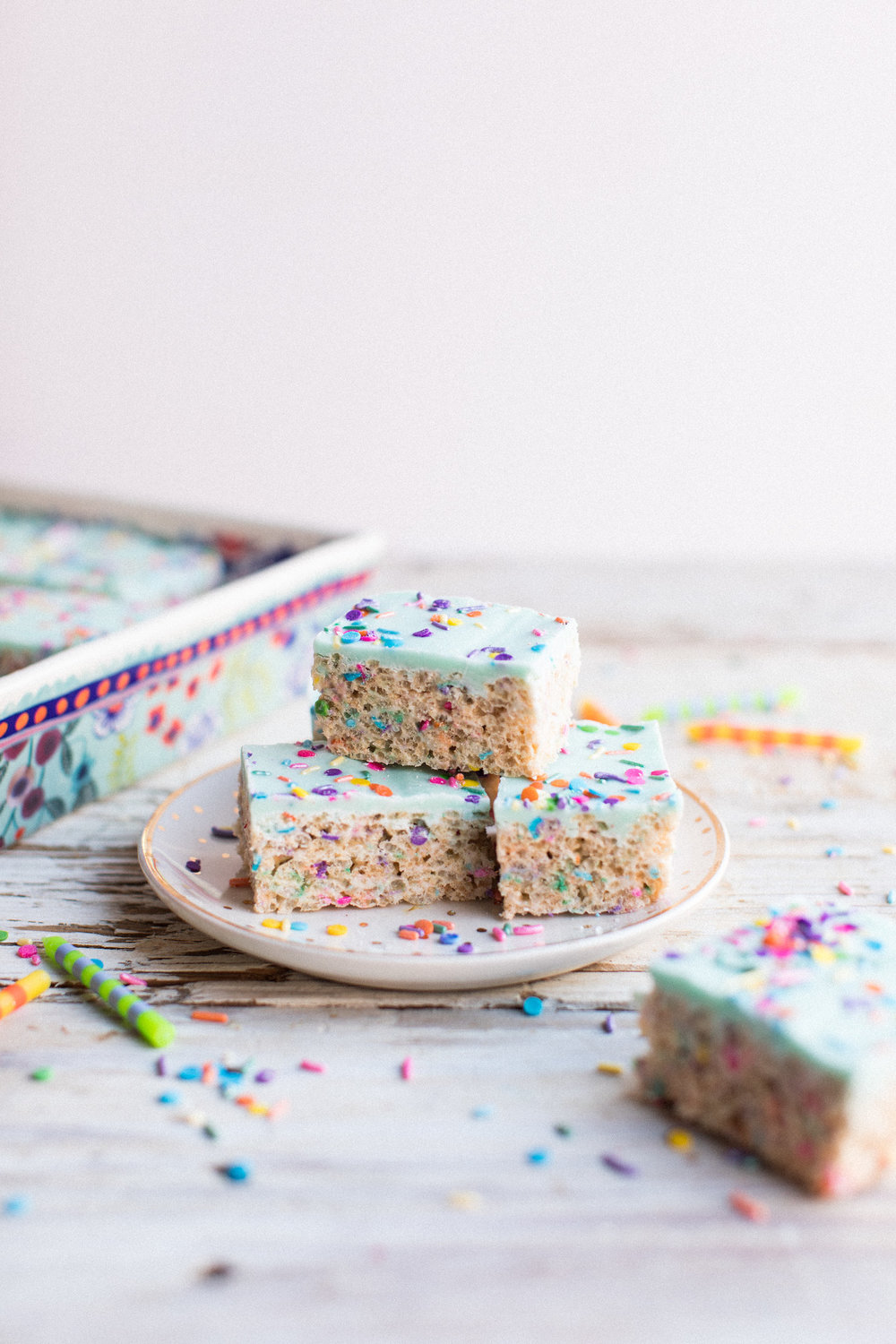 unicorn birthday treats - honeysuckle