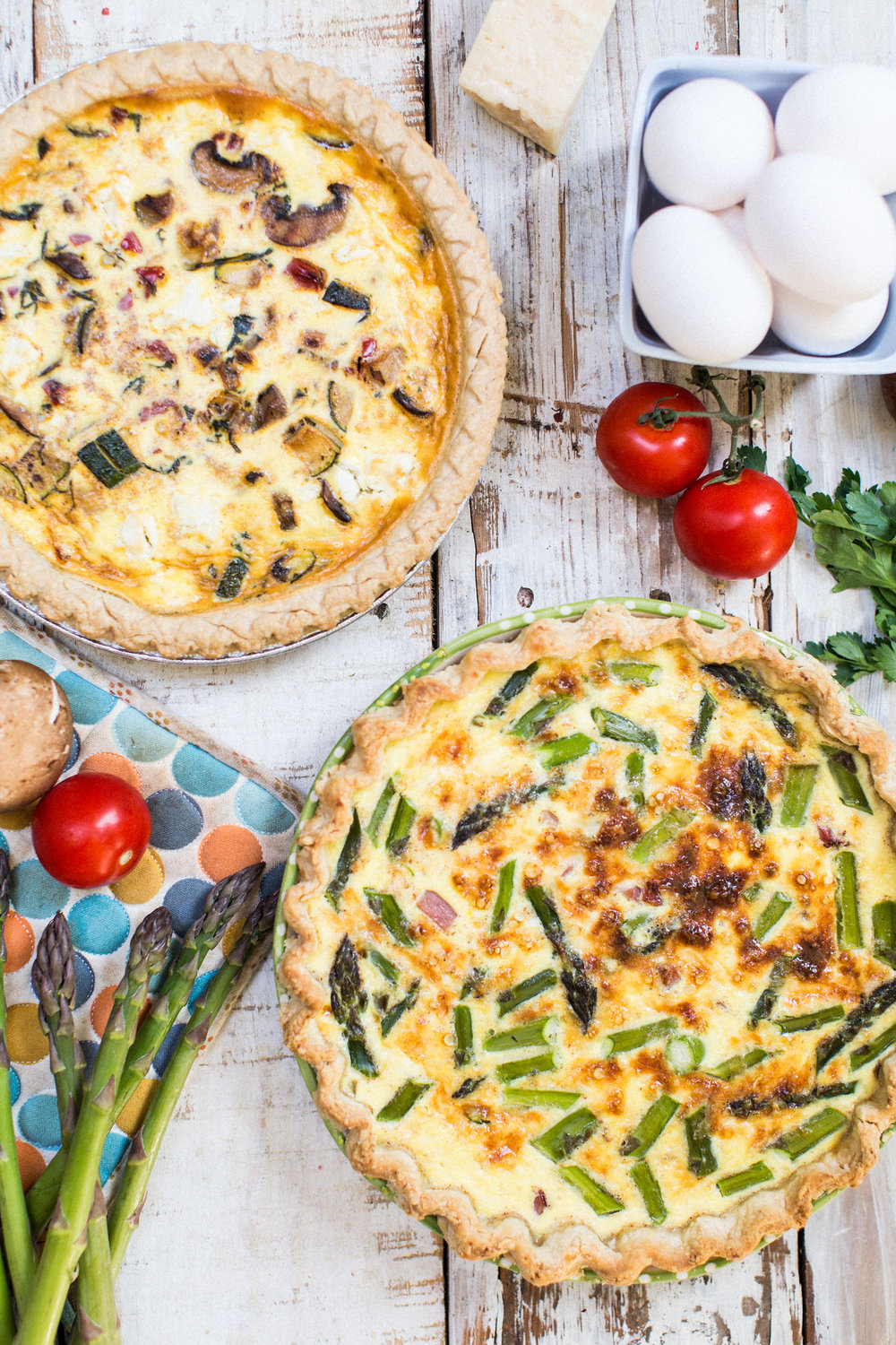 Easter Quiche - Honeysuckle