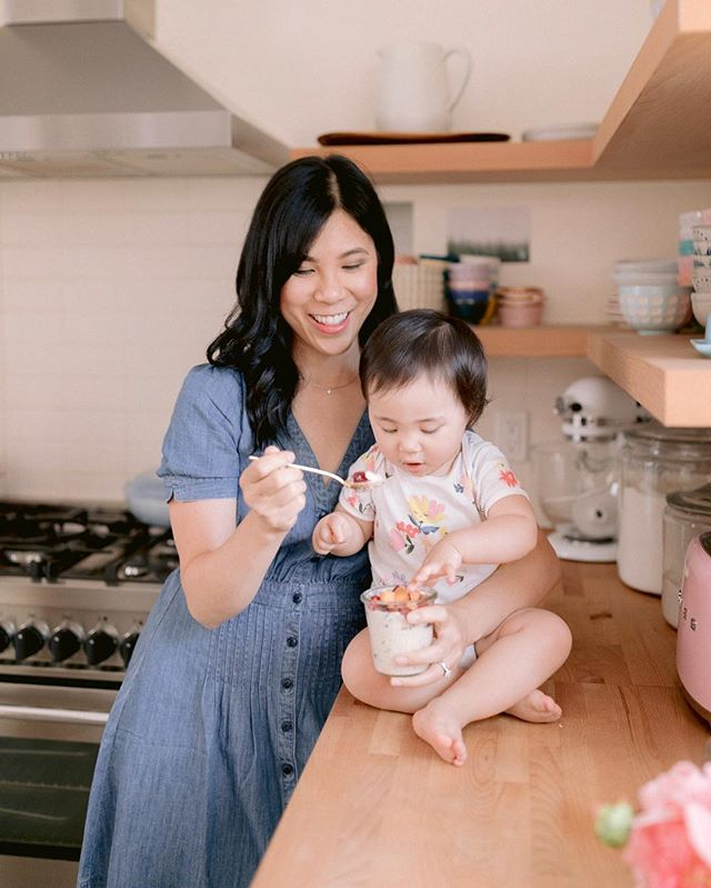 She is always needs a bite of whatever I'm eating. Have you seen my new Overnight Oats post yet? Go to my profile to see how to make 3 new Holiday flavors! #illhavewhatsheshaving 🎄🍓 . . . . . #momlife #momsofinstagram #momfashion #momstyle #momootd #fallstyle #motherhood #motherhoodunplugged #motherhoodthroughig #parenthood_unvelied #documentyourdays #wildandbravelittles #cameramama #parenthood_unvelied #littleandbrave #ootd #outfitinspo #outfitideas #style #styleblogger #styleinspo #outfitideas #whatiwore #igstyle #overnightoats