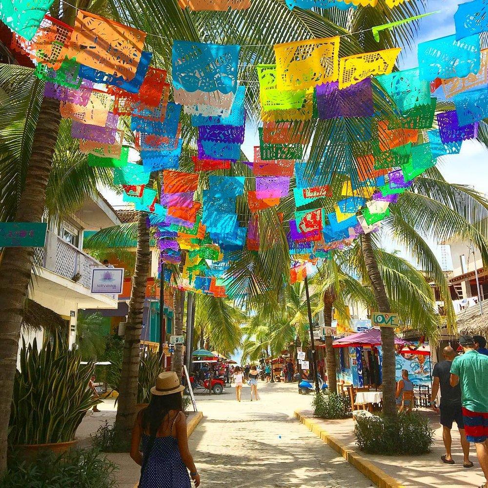 Sayulita Streets.