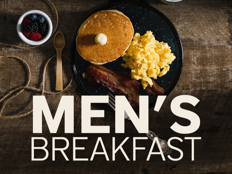 Men's Breakfast & Study   This is a group for men of all ages to come and have breakfast and dig into the Word of God together. This is a time of encouragement and growth from the Word of God.  This gathering meets on Saturday mornings at 8:00 AM.  Talk to Kevin Leonhardt for more information.