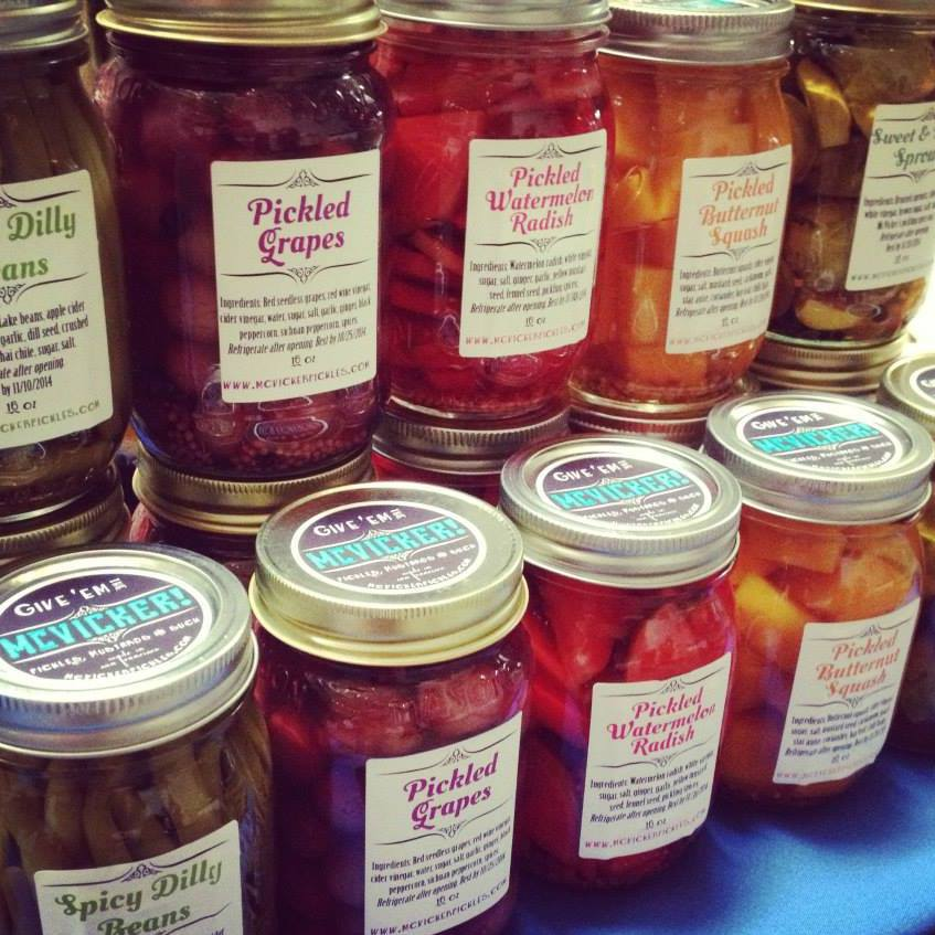 Old Classics, New Ideas    McVICKER PICKLES    Pickles + Mustards + Preserves    OUR PRODUCTS