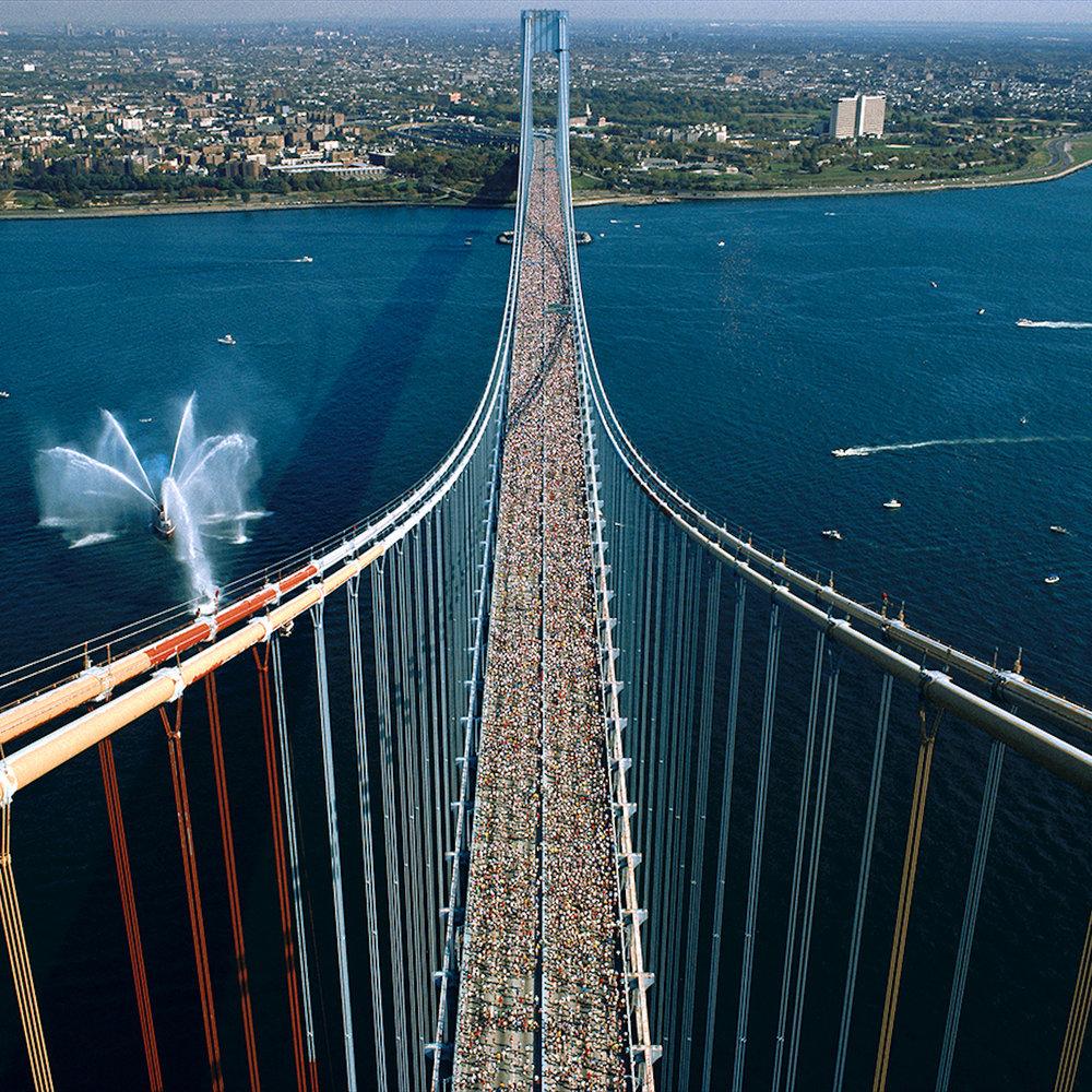 Мост Верразано - Самый длинный подвесной мост в Америке