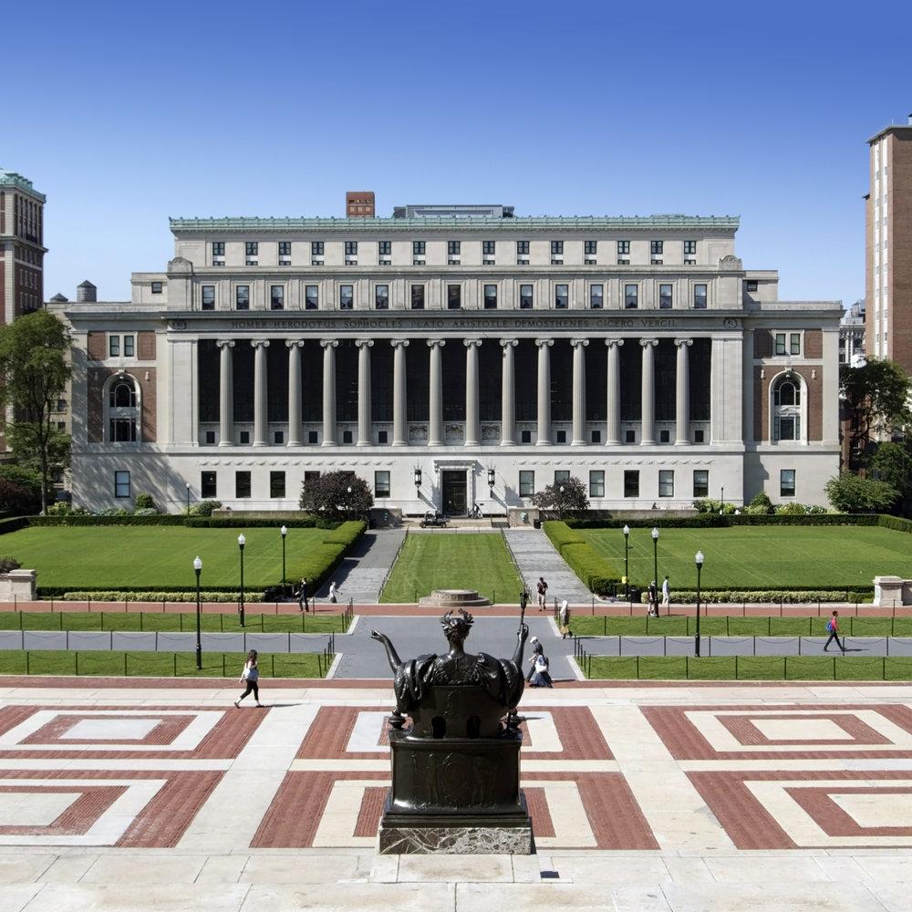 Колумбийский Университет - Альма матер Нью-Йорка