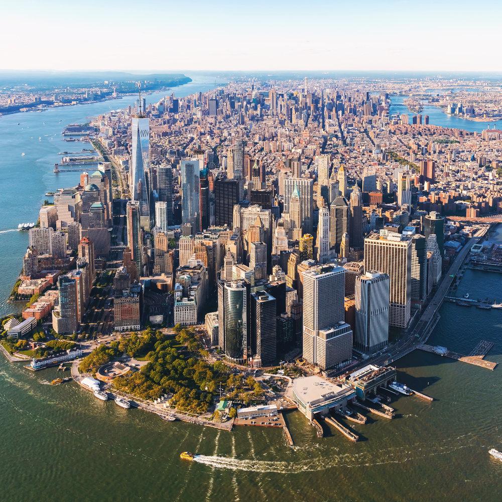 Нижний Манхэттен -