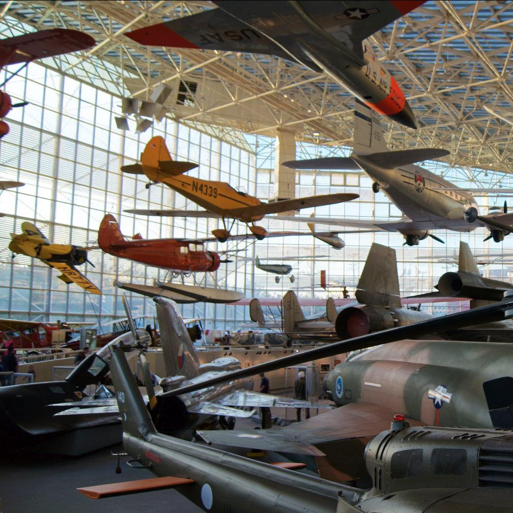 Музей авиации и космонавтики -
