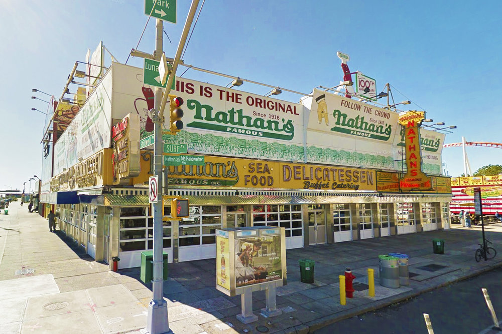 Nathan's Famous - 1310 Surf Ave, Brooklyn, NY 11224