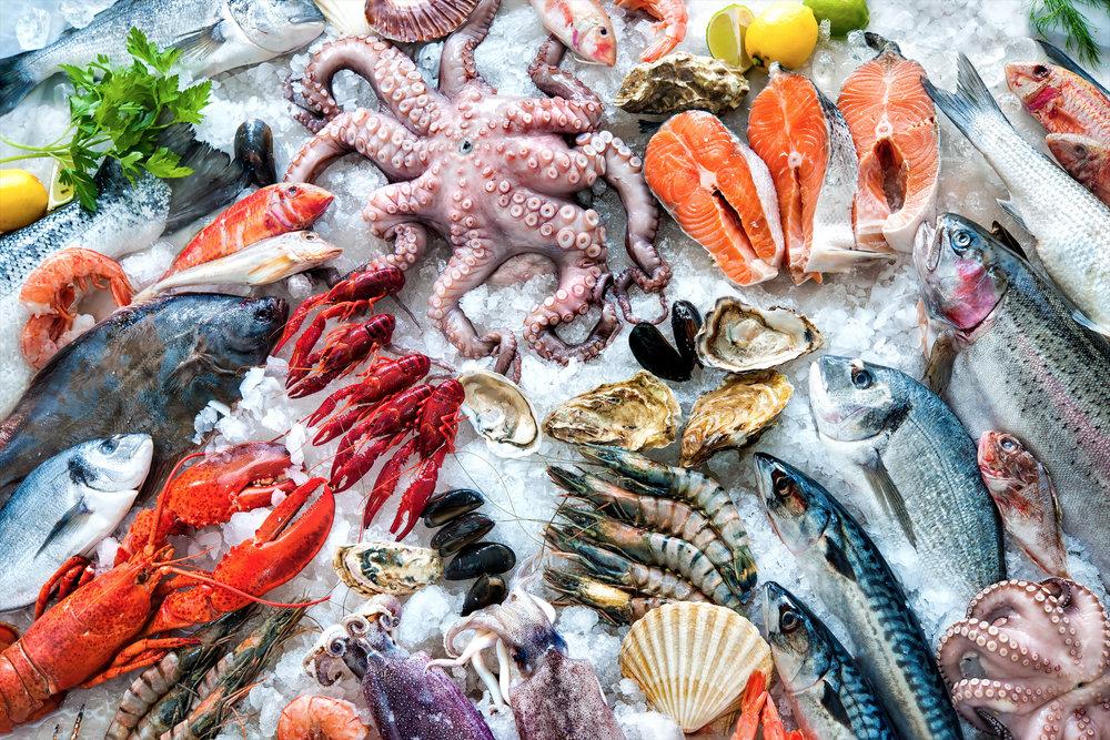 Рыбные рестораны -
