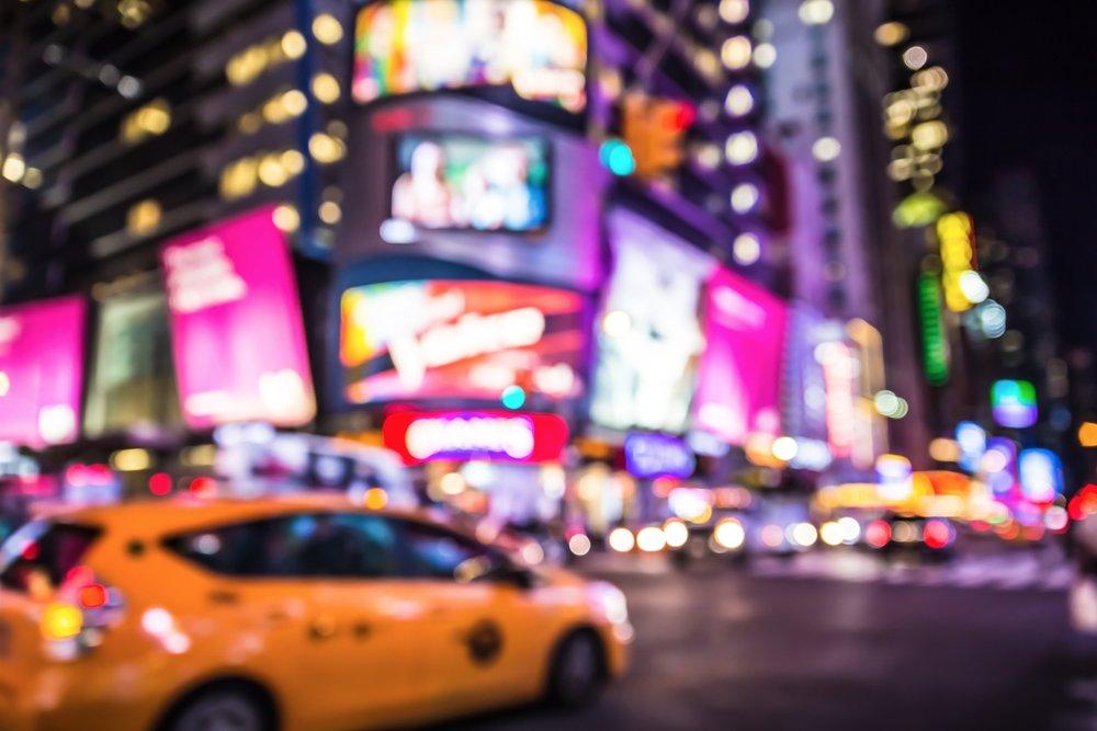 Вечерний Нью-Йорк -