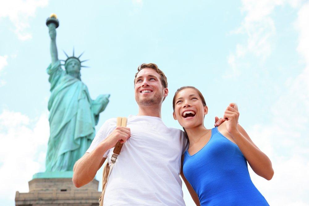 К Статуе Свободы -
