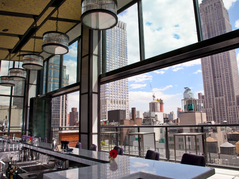 Spyglass Rooftop Bar - 47 W 38th St, New York, NY 10018
