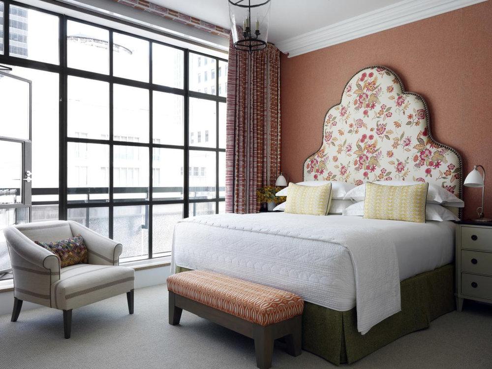 Whitby Hotel - Стандартный номер:От $420 до $800 за ночь.(В зависимости от сезона)Район: Трибека