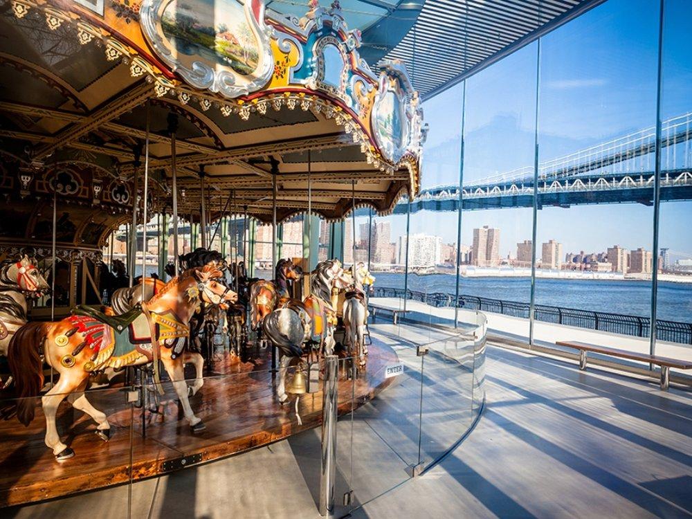 Jane's Carousel - Dock St, Brooklyn, NY 11201
