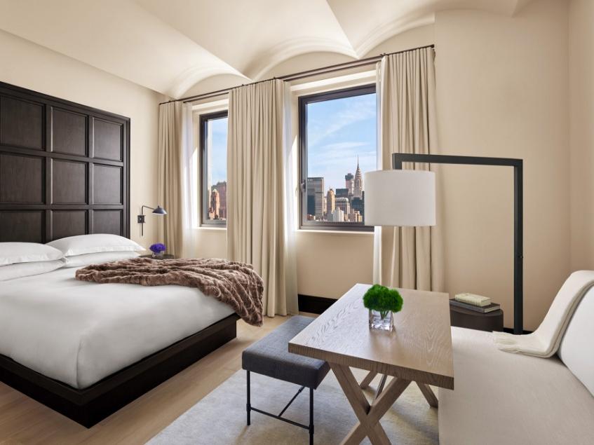 New York EDITION ✩✩✩✩✩ - Стандартный номер:От $280 за ночь(В зависимости от сезона)Район: Флэтайрон