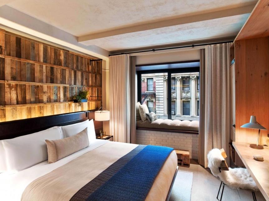 1 Hotel Central Park ✩✩✩✩ - Стандартный номер:От $320 за ночь(В зависимости от сезона)Район: Центральный Парк