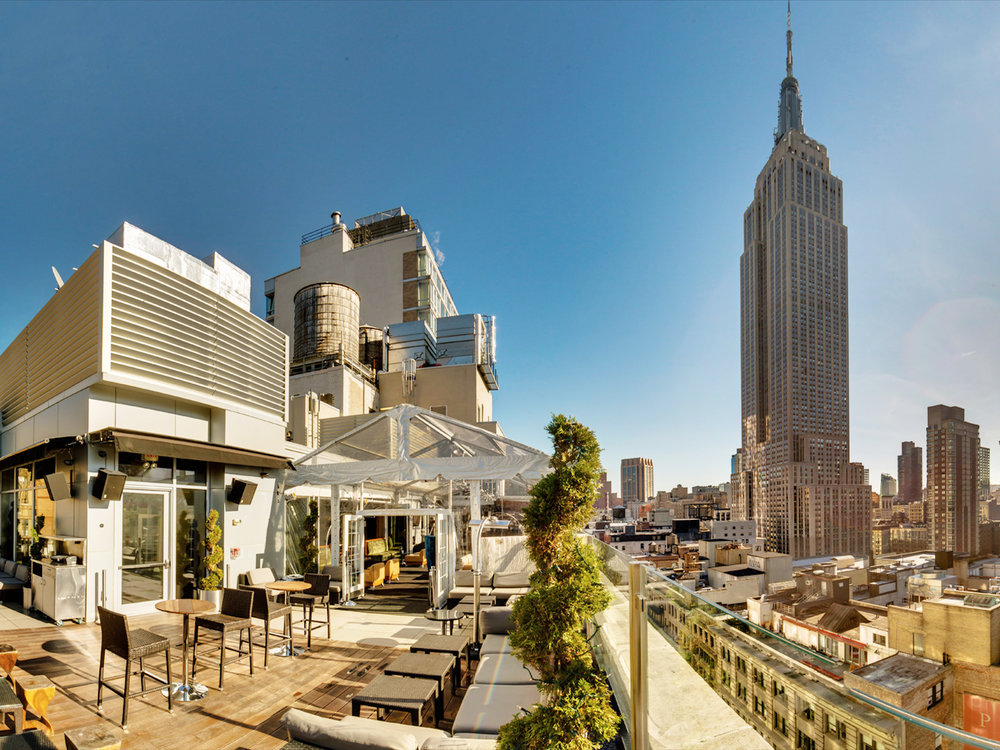 Monarch Rooftop Bar - 71 W 35th St, New York, NY 10018