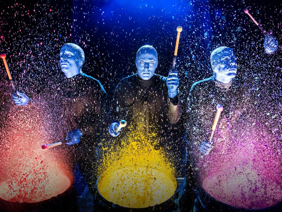 Blue Man Group - 434 Lafayette St #1, New York, NY 10003
