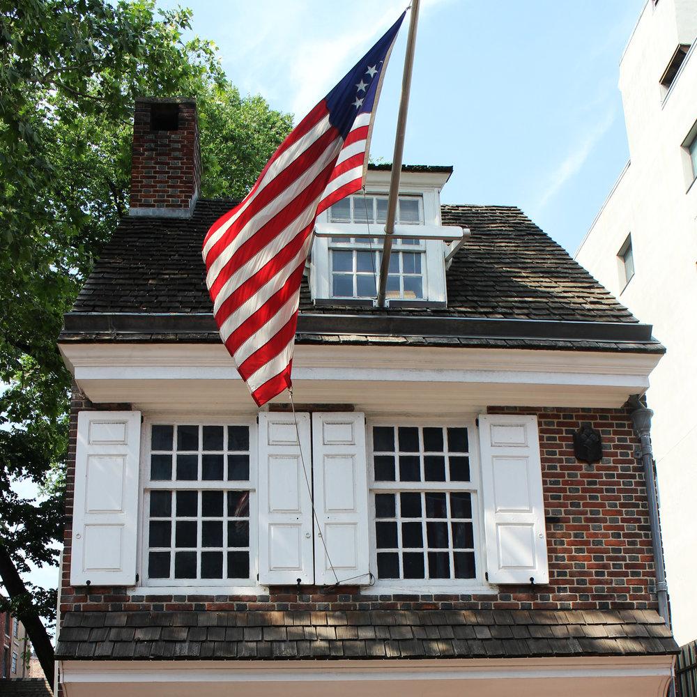 Место рождения Американского флага -