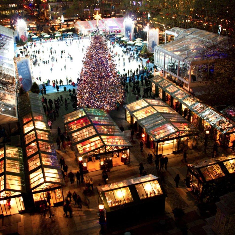Праздничная ярмарка в Браянт-парк -