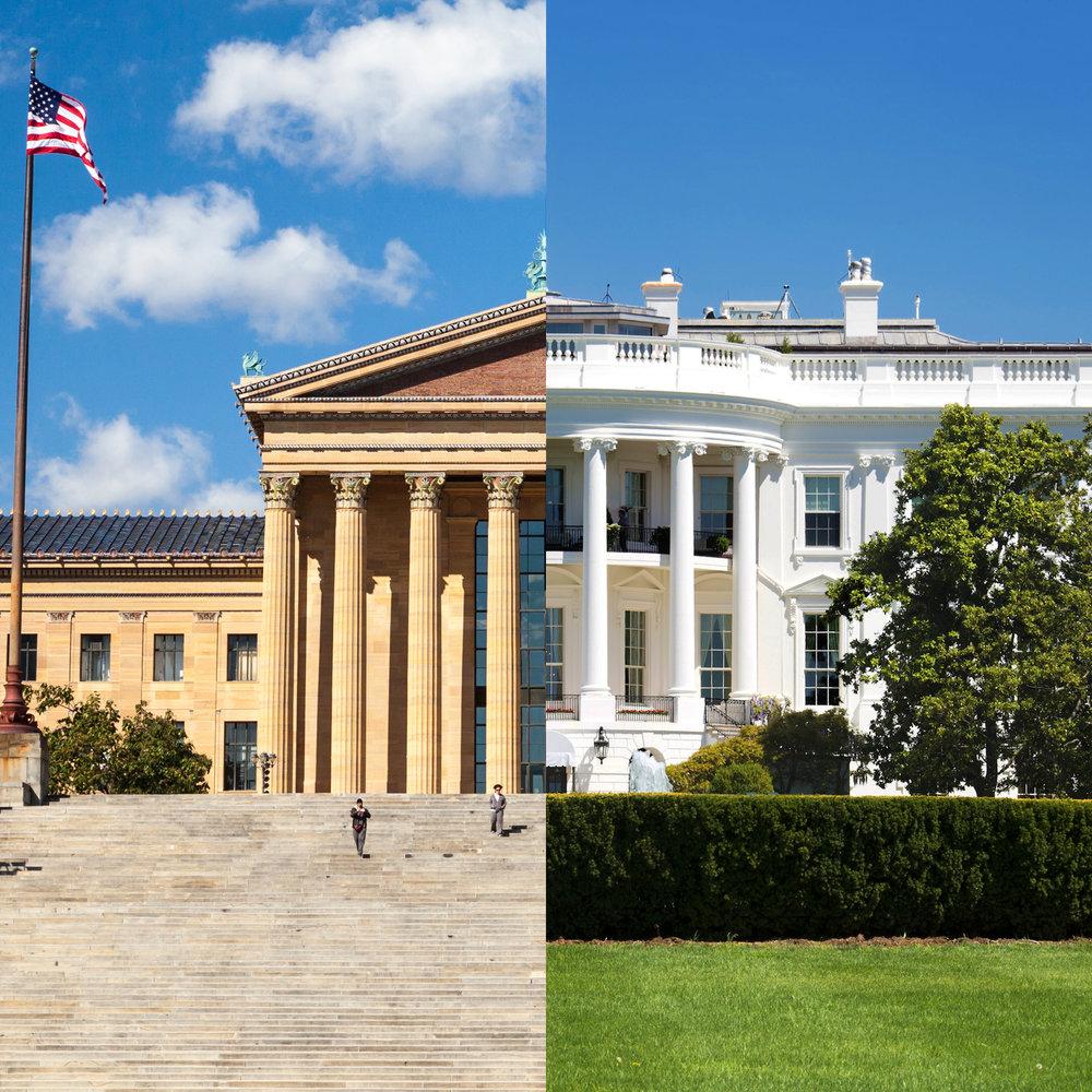 2 Дня Филадельфия + Вашингтон + Принстон -