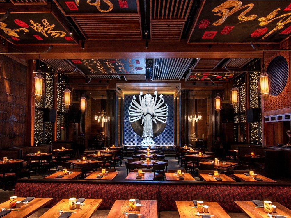 TAO - Maritime Hotel, 92 Ninth Ave, New York, NY 10011