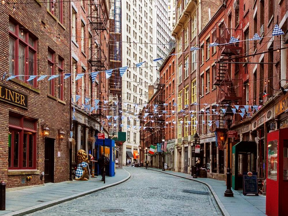 Улица Стоун Стрит -