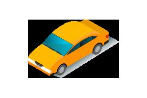 Автомобилем -