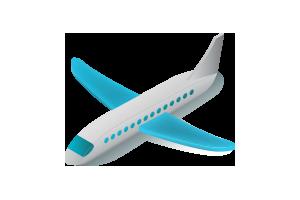Самолетом -