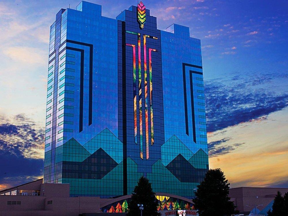 Seneca Niagara Resort & Casino✩✩✩✩ - Стандартный номер: от $200 за ночь.