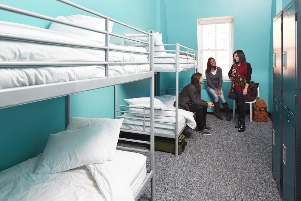 Хостелы - самый бюджетный вариант проживания -