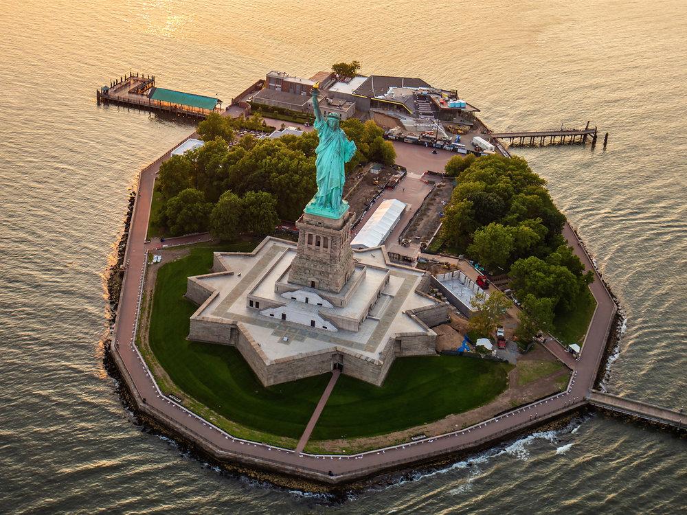 Как добраться до Статуи Свободы -