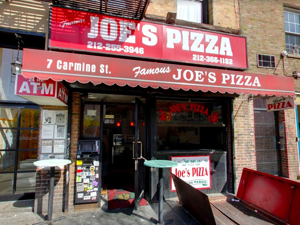 Joe's Pizza - 7 Carmine St, New York, NY 10014
