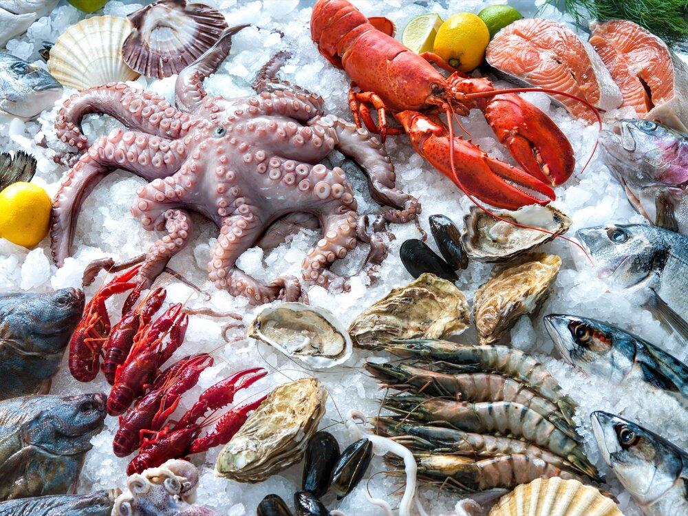Суши и Морепродукты -