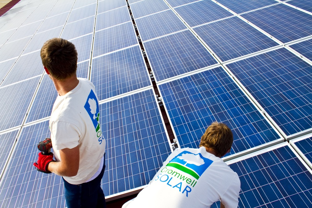 Cromwell Solar has more certified solar installers than any other firm.