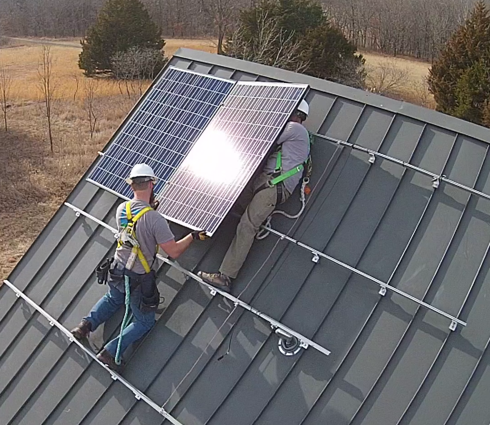 Cromwell Solar's Installers are the best trained in the industry, we install safely and for decades of use.